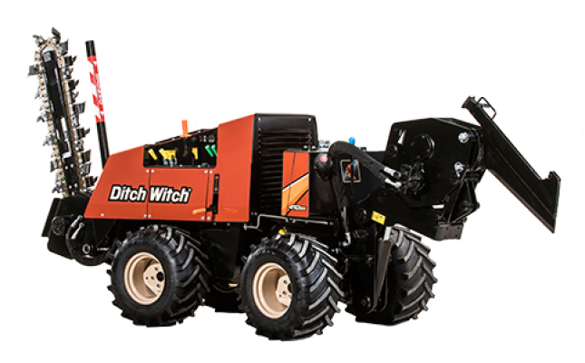 410SX DITCH WITCH PIPE PULLER W/TRENCHER - Mountain West Rentals
